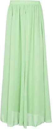 CoutureBridal Womens Summer Elastic Chiffon Maxi Skirt Bridesmaids Long Skirts