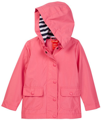 Joe Fresh Solid Raincoat (Toddler & Little Girls) $39 thestylecure.com