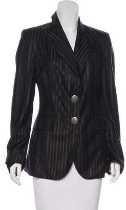 Thomas Wylde Structured Peak-Lapel Blazer