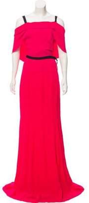 Roland Mouret Patterned Evening Dress