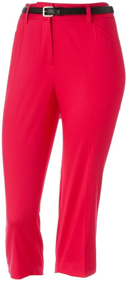 212 Collection Solid Capris