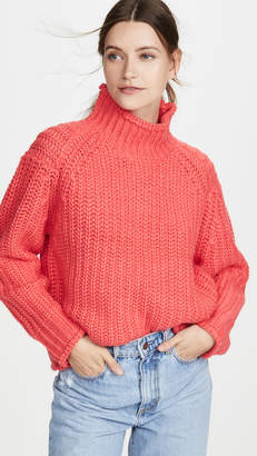 MinkPink Stevie High Neck Sweater