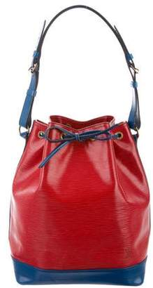 Louis Vuitton Bicolor Epi Noé Bag