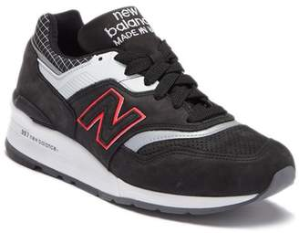 New Balance Suede Perforated Athletic Sneaker
