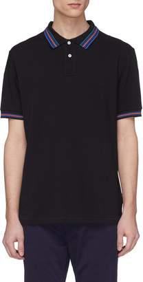 Paul Smith Stripe border polo shirt