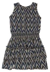 Imoga Toddler's, Little Girl's & Girl's Zig-Zag Dress