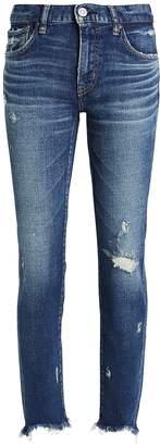 Moussy Vintage Glendele Distressed Skinny Jeans