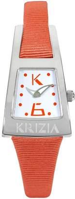 Krizia Women's OK0002BNARARAR White and Dial Watch.