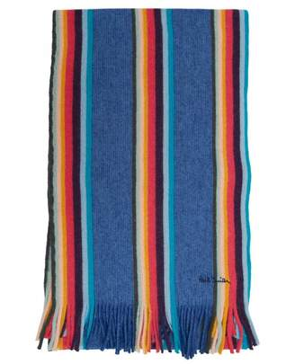 Paul Smith Twisted Artist Scarf Colour: BLUE, Size: One Si