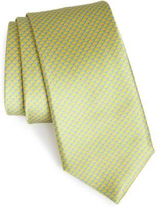 Nordstrom Lucent Geometric Silk Tie