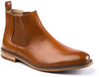 Deer Stags Mens Tribeca Chelsea Boots Block Heel Pull-on
