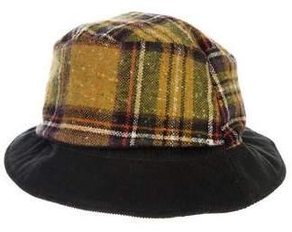 Etro Corduroy Reversible Logo Bucket Hat