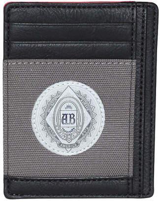 Buxton Budweiser Mens Front Pocket Wallet