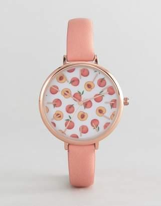 Asos DESIGN Peaches Watch