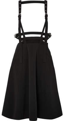 Noir Kei Ninomiya Faille Pinafore Skirt - Black