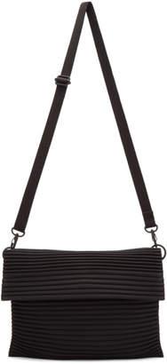 Issey Miyake Homme Plisse Black Pleats Flat Bag