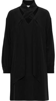 Diane von Furstenberg Jessamine Cutout Silk Mini Dress