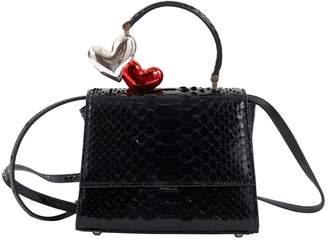 Ming Ray Black Python Handbag 43ee6766d59fd