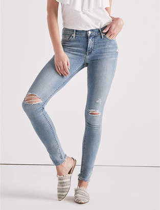 Lucky Brand Brooke Mid Rise Legging Jean In Smith Valley