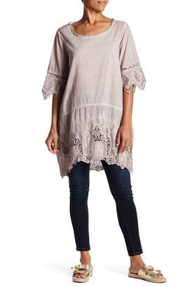 Couture Simply Scalloped Lace Tunic
