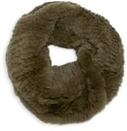Elie Tahari Chelsea Rex Rabbit Fur Cowl Scarf