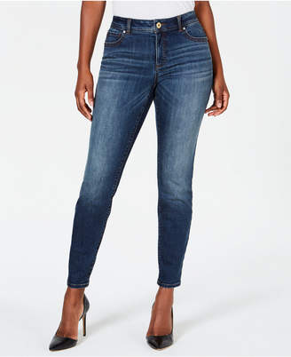 INC International Concepts I.n.c. INCEssential Curvy-Fit Skinny Jeans with Tummy Control