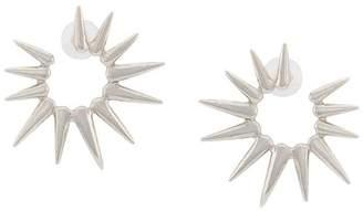 Oscar de la Renta sea urchin small earrings
