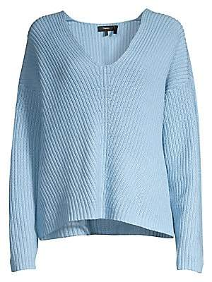 Theory Women's Easy Knit V-Neck Sweater