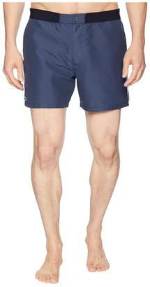 Lacoste Piped Taffeta Swimming Trunks Men's Swimwear