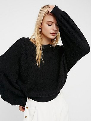 Free People Found My Friend Sweatshirt $78 thestylecure.com