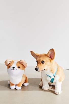 Corgi Smoko Pet Me Stuffed Plushie