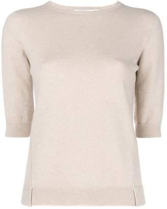 Agnona half sleeve sweater