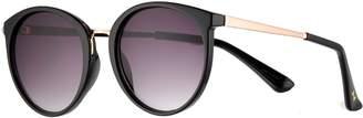 Lauren Conrad 57mm River Round Gradient Sunglasses