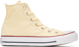 Converse Off-White Classic Chuck Taylor All Star OX High-Top Sneakers $55 thestylecure.com