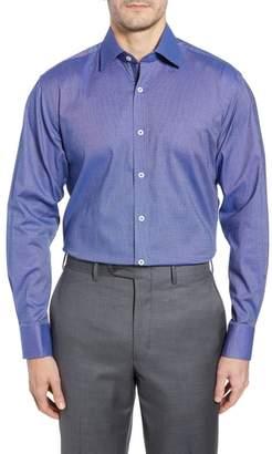 English Laundry Pattern Regular Fit Dress Shirt