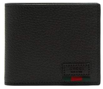 Gucci Agora Grained Leather Wallet - Mens - Black Multi