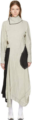 Acne Studios Beige Dragica Slub Dress