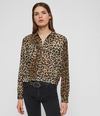 AllSaints Adeliza Leppo Shirt