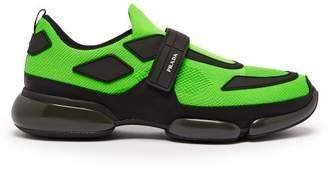 Prada Cloudbust Knit Trainers - Mens - Green