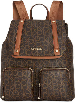 Calvin Klein Teodora Cargo Signature Backpack