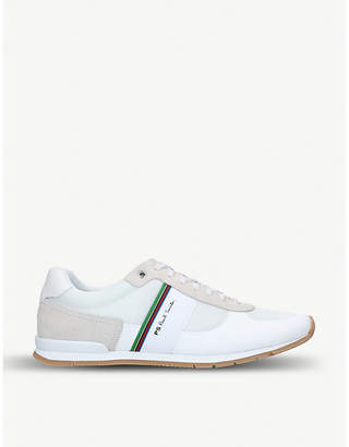Paul Smith Ericson stripe-detail mixed leather trainers