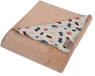 Trend Lab Paddington Bear Minky Knit Velvet Baby Blanket, Brown by
