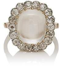 Stephanie Windsor Antiques Women's Mixed-Gemstone Cocktail Ring - Silver