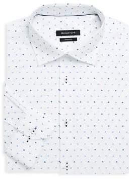 Bugatchi Shaped-Fit Floral Dress Shirt