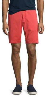 Orlebar Brown Dane 2 Twill Shorts, Pomodoro (Red) $245 thestylecure.com