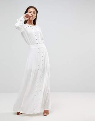 Finders Keepers Maddox Slit Maxi Dress