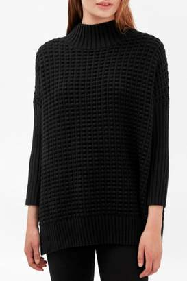 French Connection Mock Neck Sweater
