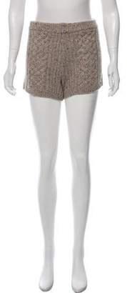 Rebecca Minkoff Knit Mini Shorts w/ Tags