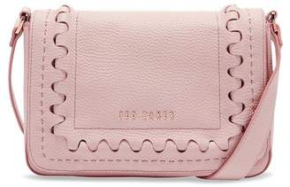 Ted Baker Interlocking Detail Leather Crossbody Bag