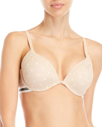 2b483be93d Tommy Hilfiger Micro Push-Up Plunge Bra